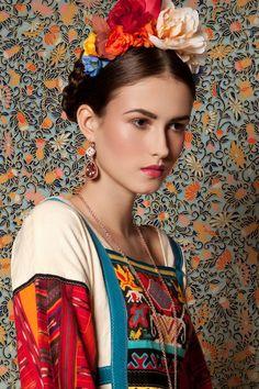 Inspiration Frida ou Ukraine.