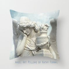 Angel Pillow by Kathy Fornal ~