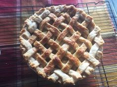 Best apple pie ever! Make it with the homemade pastry and top with whipped cream! So easy! Homemade Pastries, Homemade Pie, Whipped Topping, Whipped Cream, Pastry Shells, Old Recipes, Pie Plate, Deep Dish, Cooking Time