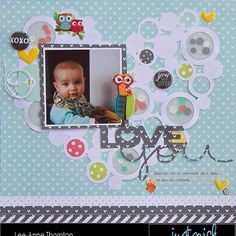 Sharing a baby layout on the @justnickstudio blog today of my youngest boy who is now 17 and graduating from high school this year. #scrapbooking #scrapbooklayout #baby #justnickstudio #echoparkpaper #cutfiles #aflairforbuttons #silhouettecameo #paperhouseproductions #fancypantsdesigns