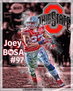 Ohio State Buckeye Joey Bosa # 97