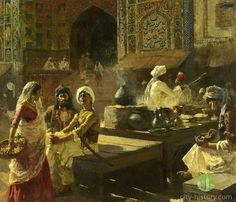 Life Of Lahore Through Edwin Lord Weeks Eye - Lahore | Rediscovering City History