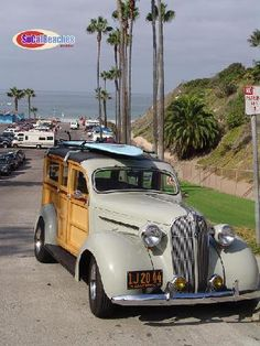 1937 Plymouth Woodie Photos, Tourmaline Surf Park Pacific Beach San Diego