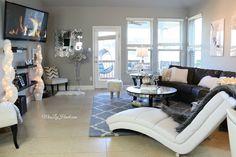 Miss Liz Heart: Fall & Winter Living Room Tour + Video