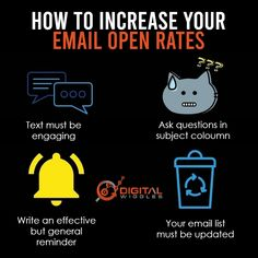 The most important things are subject, it's should be real, eye-catching & should contain a question if required 🔥 . The text should be engaging & interactive🌟 . If your email contains discounts & offers, always include a general reminder🕓 . Your Email list should be updated & always target the right set of audience👥.