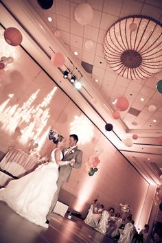 The Grand Floridian offers gorgeous chandeliers and ample opportunities to make the space your own, a very big option for the reception space!