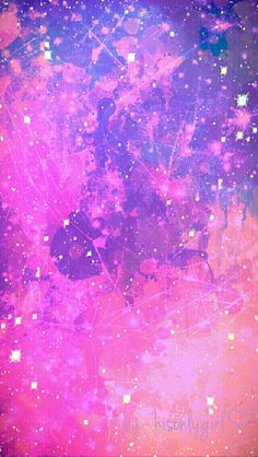 Grunge Galaxy Wallpaper I Created For The App CocoPPa Purple Pink