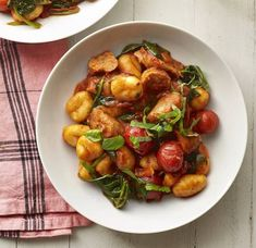 Tired of tagliatelle and sick of spaghetti? Give gnocchi a go midweek. Asda Recipes, Pork Recipes, Savoury Recipes, Healthy Recipes, Healthy Dinners, Healthy Food, Some Recipe, Curry Recipes, Gnocchi