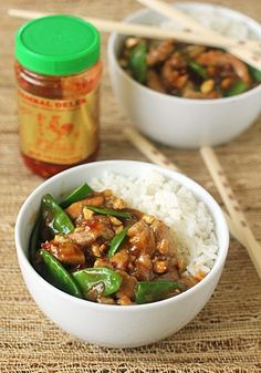 The Galley Gourmet: Cashew Pork with Snow Peas and Ginger
