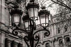 Farolas Paseo del Prado
