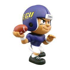 East Carolina Pirates NCAA Lil Teammates Vinyl Quarterback Sports Figure (2 3-4 Tall)