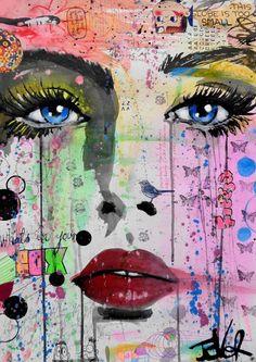 Loui Jover, paintings - ego-alterego.com