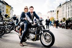 The 2016 Distinguished Gentlemans Ride : The City of Music - Vienna