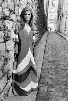 Raymond Depardon, FRANCE. French singer DALIDA. 1968.