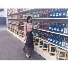 "Chanel Supermarket / Chanel Shopping Center / Supermarche. Paris Fashion Week 2014. Grand Palais. Liquor. ""Clean up on aisle 3!"""