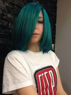 Green haircolor    Spring color  www.edensalon.it