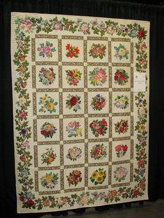 Broderie Perse Applique Quilt | 4/23/08 | quiltingqueensmn | Flickr