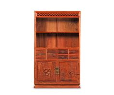 Multi-function Office Study Room Bookcase Storage Wooden Bookshelf 4 layers Rosewood Home Kitchen Caninet set <font><b>Book</b></font> Shelf Facotry