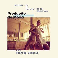 Ama moda, trabalha ou sempre sonhou em trabalhar na área? Então você não pode perder o Workshop de Produção de Moda que terá início nesse sábado (15) na GUAJA Casa em Belo Horizonte, com o Stylist e Consultor Rodrigo Cezário. INFORMAÇÕES: http://www.dropsdasdez.com.br/drops/workshop-de-producao-de-moda-em-bh-com-rodrigo-cezario/