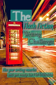 Do you want to flex your creative muscles or prep for NaNoWriMo?  Give the Flash Fiction Writing Challenge a try!  It's a quick and easy way to get back in the writing game and increase your creativity.