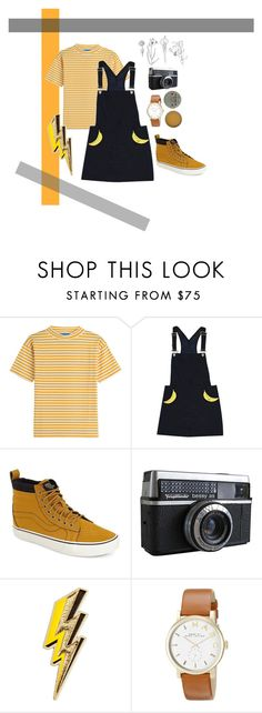 playful casual by holly-jackson-i on Polyvore featuring Valfré, MiH Jeans, Vans, Marc by Marc Jacobs, Antipodes, Anya Hindmarch, women's clothing, women's fashion, women and female