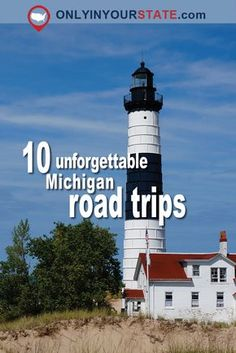 Travel   Michigan   Road Trip   Lighthouse   Adventures   Scenic   Drives