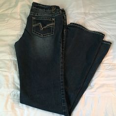 Vanity Jeans Comfy and good stretch. Size 30x32. Tag says 35 but from wash and wear, inseam is 32-33in. Vanity Jeans Boot Cut