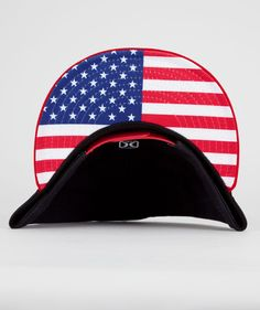 HURLEY Icon Regional USA New Era Mens Snapback Hat 198759948  283b42493162