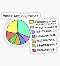 A.D.D Graph Sticker