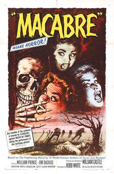 affiche vintage film horreur 1950 16 Affiches de films dhorreur des années 50