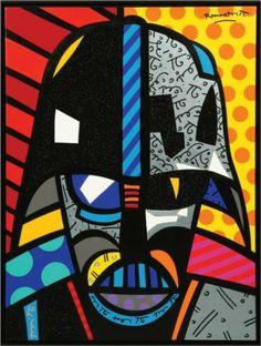 Romero Britto – Darth Vader, Neo-Pop Art