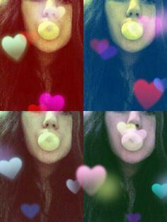 Bubblegum.Hearts.Colours.