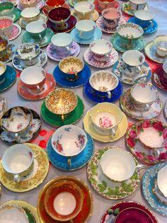 Vintage Teacups collection