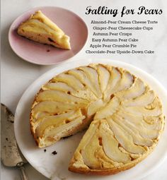 Six delicious pear desserts