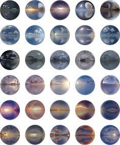 Halo Collection, Winter Mountain, Dusk, Underwater, Chill, Texture, Sunset, Night, Purple