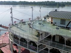 Image result for paddlewheel steamboat top deck Sacramento River, My Fantasy World, Steamboats, Outdoor Areas, Deck, Exterior, Queen, Mansions, American