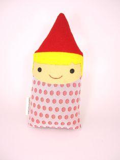 Gnome Tooth Fairy Pillow Plush