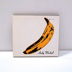 Velvet Underground and Nico 1995 Vintage CD Sampler Andy Warhol Banana Cover Artwork Lou Reed John Cale Live Alternate Mixes Peel Slowly Andy Warhol Banana, Satellite Of Love, Pale Blue Eyes, All Tomorrow's Parties, Banana Art, White Heat, Compact Disc, Greatest Songs, Rock And Roll
