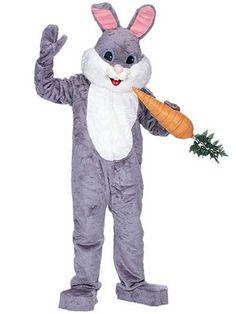 Premium Rabbit Grey Costume | Mascot Costumes Halloween Costumes
