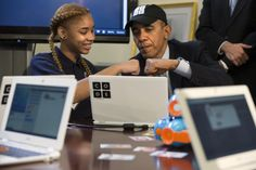 Barack Obama just became the first US president to write a computer program