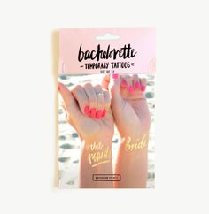 Hey, I found this really awesome Etsy listing at https://www.etsy.com/listing/238667833/set-of-12-bachelorette-tattoos