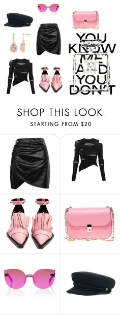 """Stay Pink"" by nerdygets on Polyvore featuring moda, Boohoo, Vivienne Westwood, Marques'Almeida, Valentino, RetroSuperFuture i Chanel"