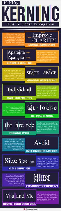 10 Nifty Kerning Tips To Boost Typography…