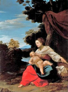 Madonna and Child - Simon Vouet