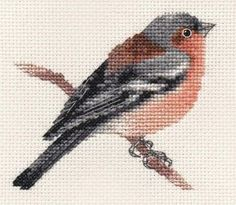 CHAFFINCH~ Garden Bird ~ Full counted cross stitch kit with all materials