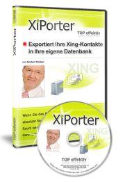 Xi-Porter  Xing-Kontakte auf Knopfdruck in eine Datenbank    Wenn Sie schon immer Ihre bestehende Xing-Kontakte auch in Ihr Outlook, Ihr CRM, Ihr Newsletter-System oder sonst eine Datenbank exportieren wollten, aber bisher nicht wussten wie, dann hilft Ihnen Xi-Porter.  EUR 89,-
