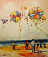 Σ.Μπουράνης Kites Craft, Go Fly A Kite, Greek Art, Conceptual Art, Printmaking, Embroidery Patterns, Balloons, Projects To Try, Sculpture