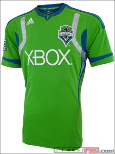 adidas Youth Seattle Sounders Home Jersey 2012...$53.99