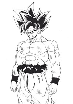 Black Things goku y black para colorear Dragon Ball Gt, Goku Y Black, Goku Drawing, Dbz Drawings, Goku Manga, Goku Y Vegeta, Anime Nerd, Anime Sketch, Fan Art