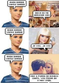 """""""Mas q porra de boneco chato."""" Funny Jokes For Kids, Funny Memes About Life, Funny Puns, Funny Humor, Funny Pictures Of Women, Funny Pictures With Captions, Habbo Hotel, Little Memes, Funny Animal Quotes"""